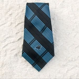 NFL Carolina Panthers NEW WITH Tags  Striped Tie